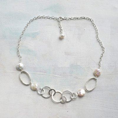 Adjustable chain jewellery